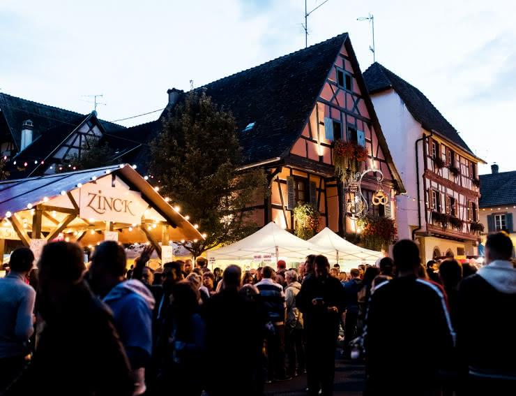 Fête du vin en Alsace