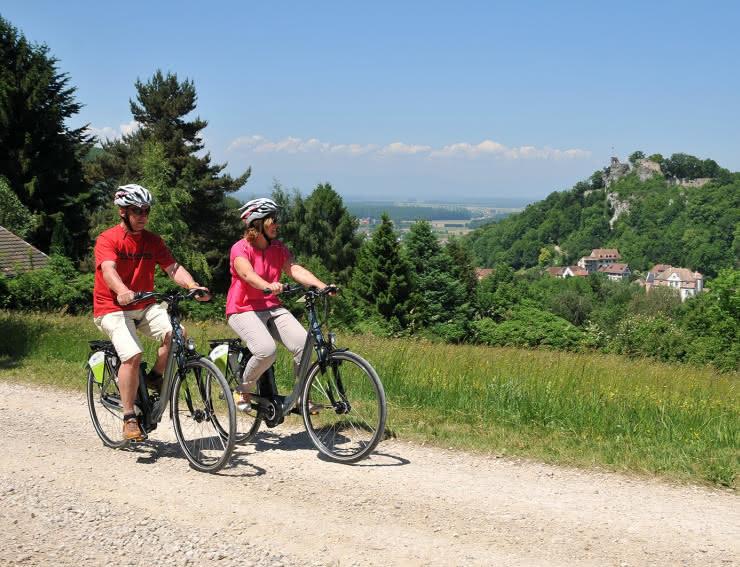 Balade à vélo Sundgau