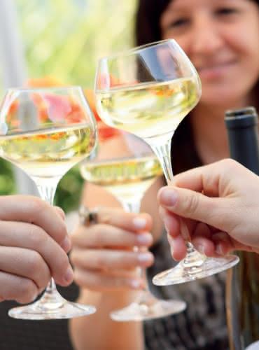 Apéritif vins d'Alsace