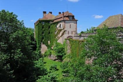 Le château de la Petite-Pierre © C.FLEITH