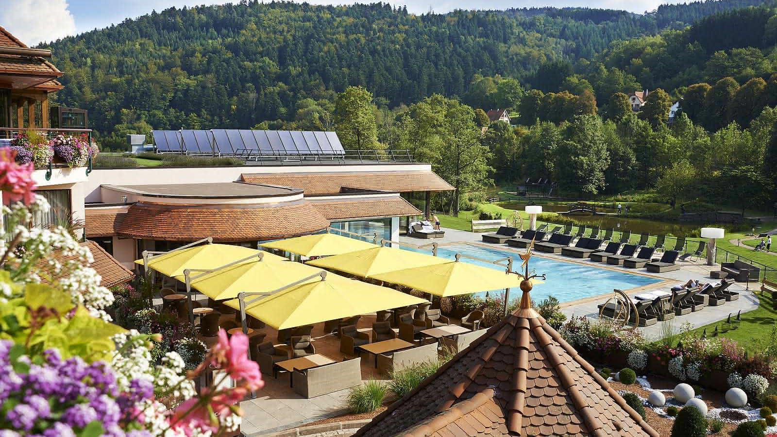 Hotel Restaurant Julien Spa Fouday Visit Alsace