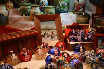 Marché de Noël artisanal authentique, Alsace