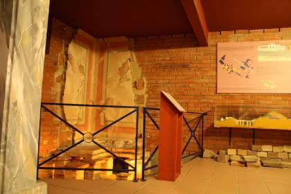 Visite du secteur 'Gallo-romain' du musée, Niederbronn-les-Bains