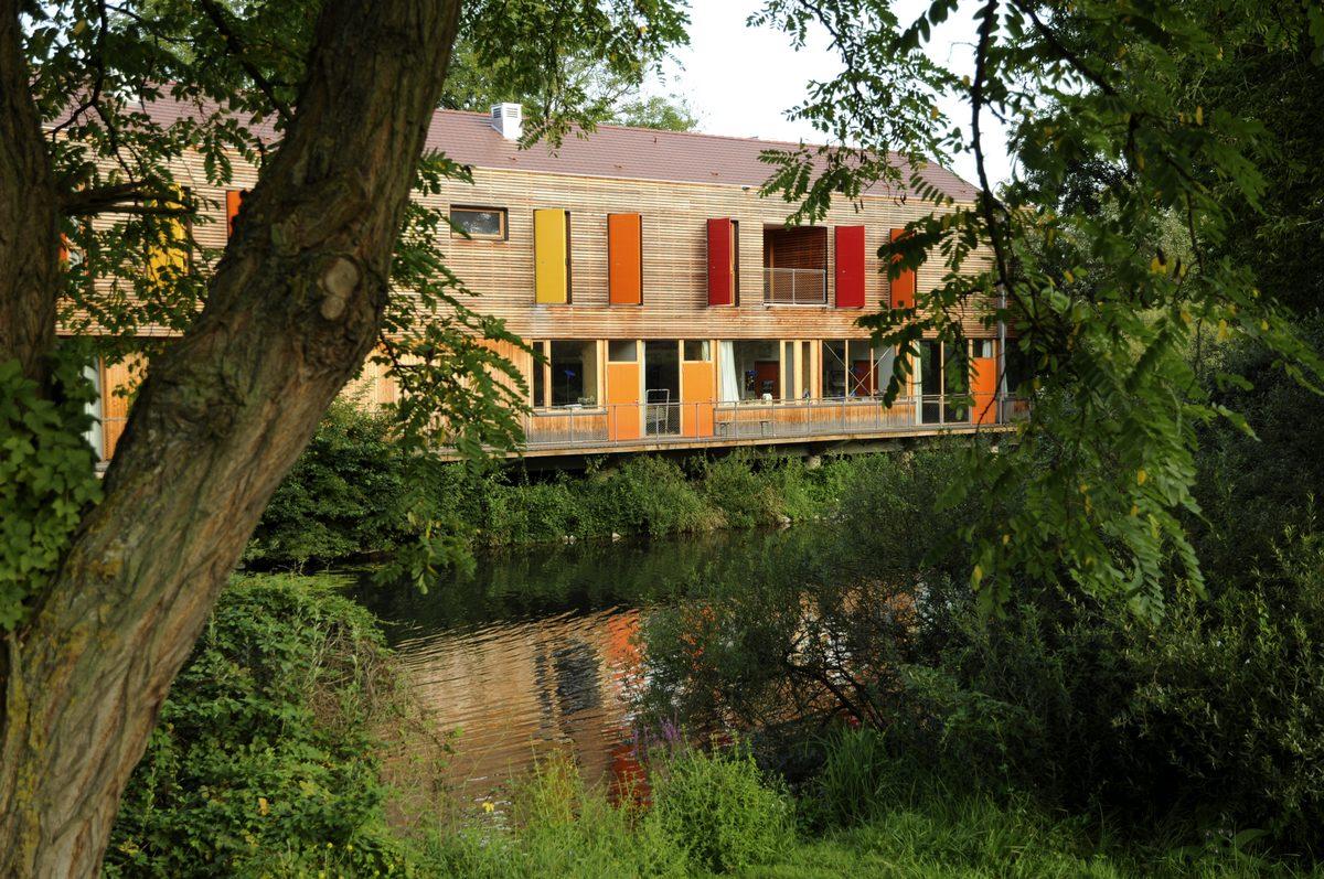 The Maison de la Nature of the Ried and central Alsace