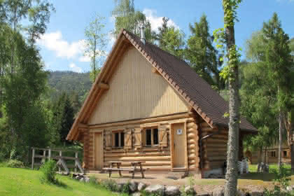Les Lodges - Chalet Myrtille 4 Personnes (60m2) - Exterieur