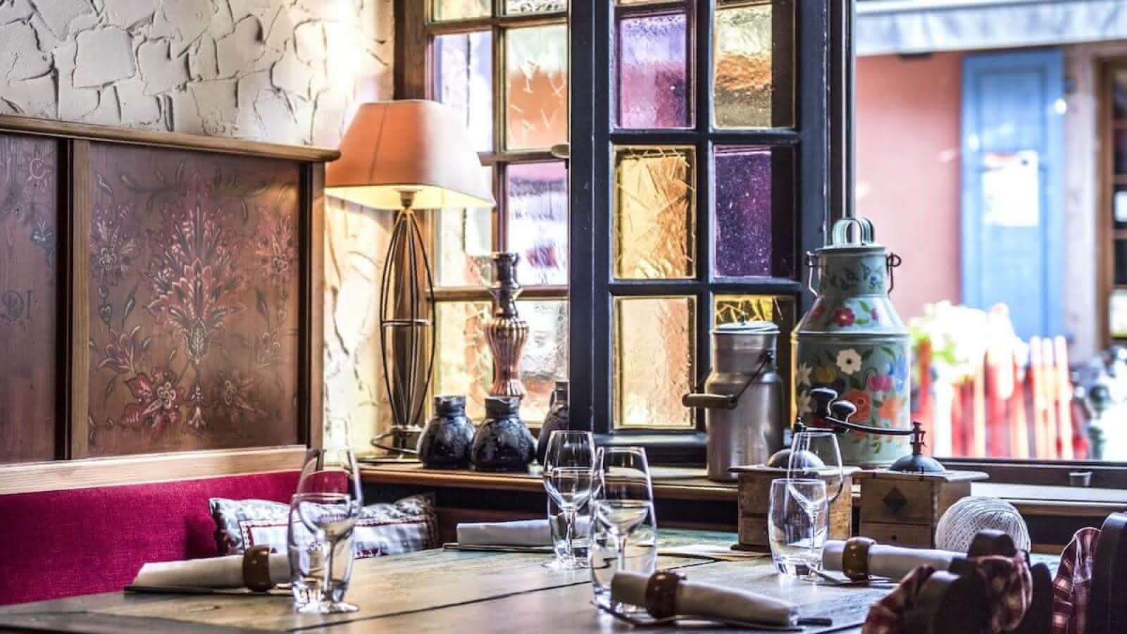 Restaurant Winstub Le Chambard Kaysersberg Vignoble Visit Alsace