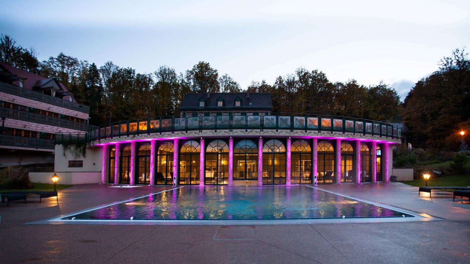 Piscines Es & Spas hôtel & spa les violettes - soultz haut rhin   visit alsace