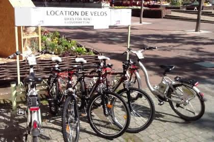Vélos et VTT de location