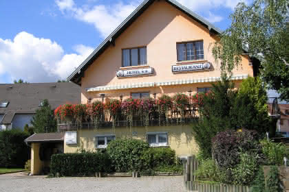 Hôtel-Restaurant A l'Arbre Vert, Wintzfelden, Canton de Rouffach, Haut-Rhin, Alsace