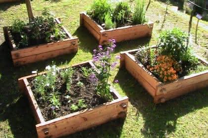 Mittelalterlicher Garten