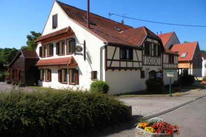 Façade du restaurant du Tigre - Offenheim