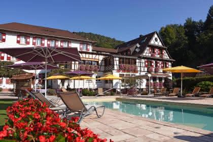Hôtel-restaurant Au Cheval Blanc, Niedersteinbach, Alsace