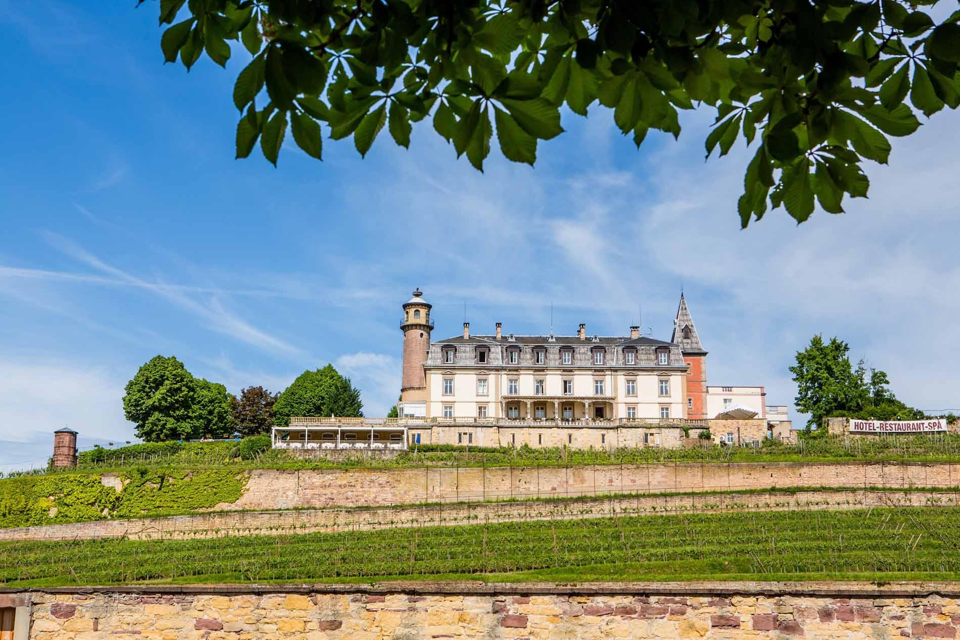 Château d'Isenbourg Château-Hôtel***** Restaurant et Spa, Rouffach, Pays de Rouffach, Vignobles et Châteaux, Haut-Rhin, Alsace