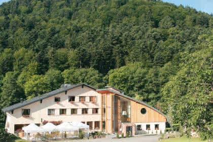 L'Hôtel la Fischhutte à Mollkirch, Alsace