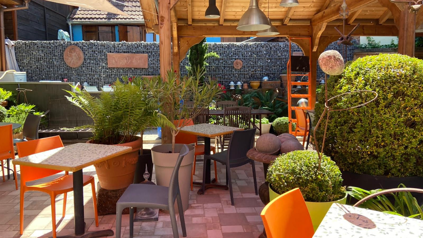 Restaurant De La Cuisine Au Jardin Benfeld Visit Alsace