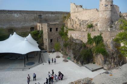 Blick auf die obere Burg.